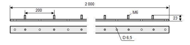 Шина заземления медная ШМЗ-5х20