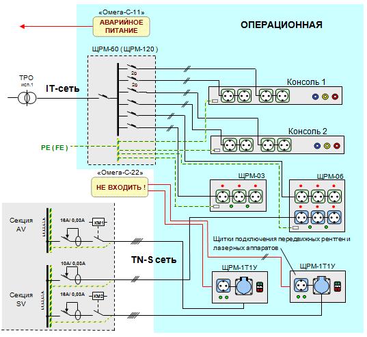 электрическую схему металлоискателя